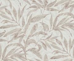 フリース壁紙 植物柄 グレーC【5984-11】