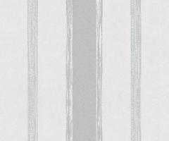 フリース壁紙 ストライプ グレー【5963-10】