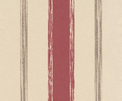 フリース壁紙 ストライプ 赤A【5963-06】