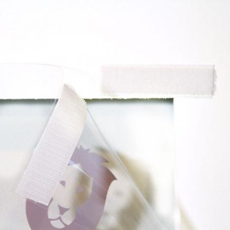 マジックテープ(21mm幅、オス)で固定