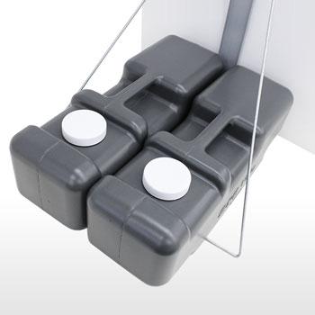 注水タンク2個セット付き(標準装備)